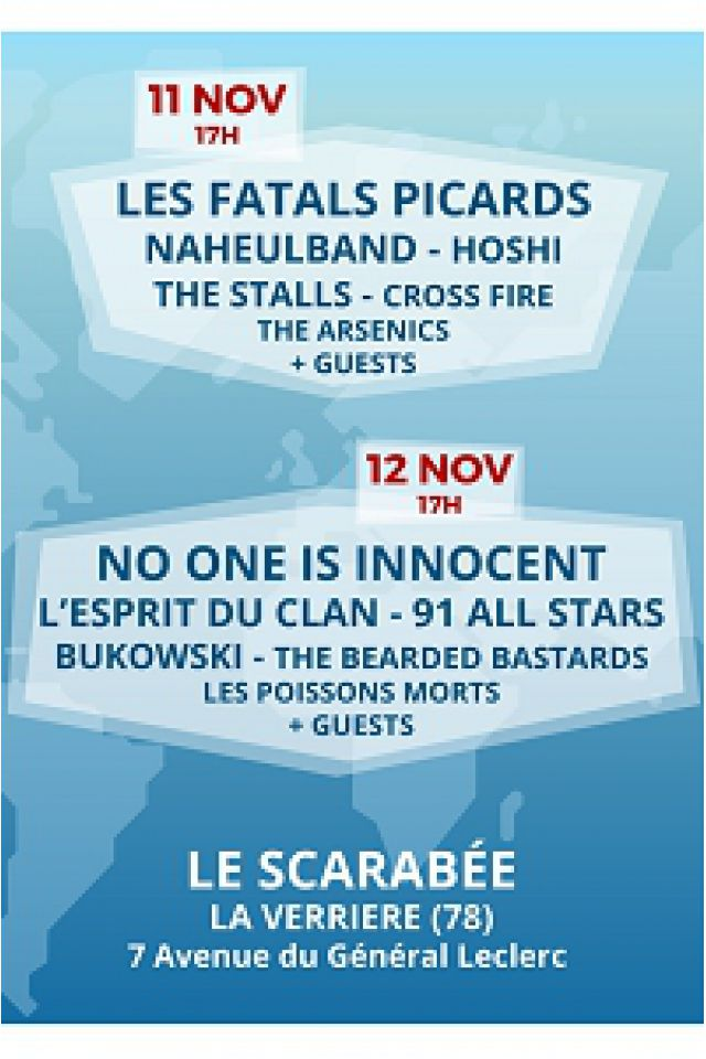 PLAY FOR HUMANITY - PASS 2 JOURS @ LE SCARABEE - LA VERRIÈRE