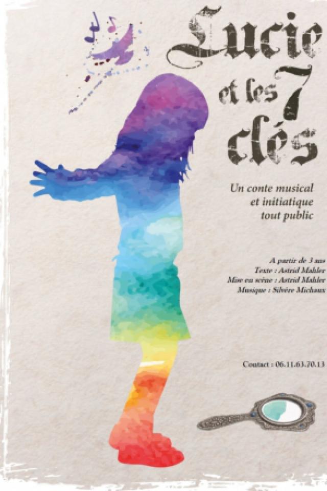 Lucie et les 7 clés - dès 3 ans - 60 mn - L'un d'eux 3  @ Acte 2 Théâtre - LYON