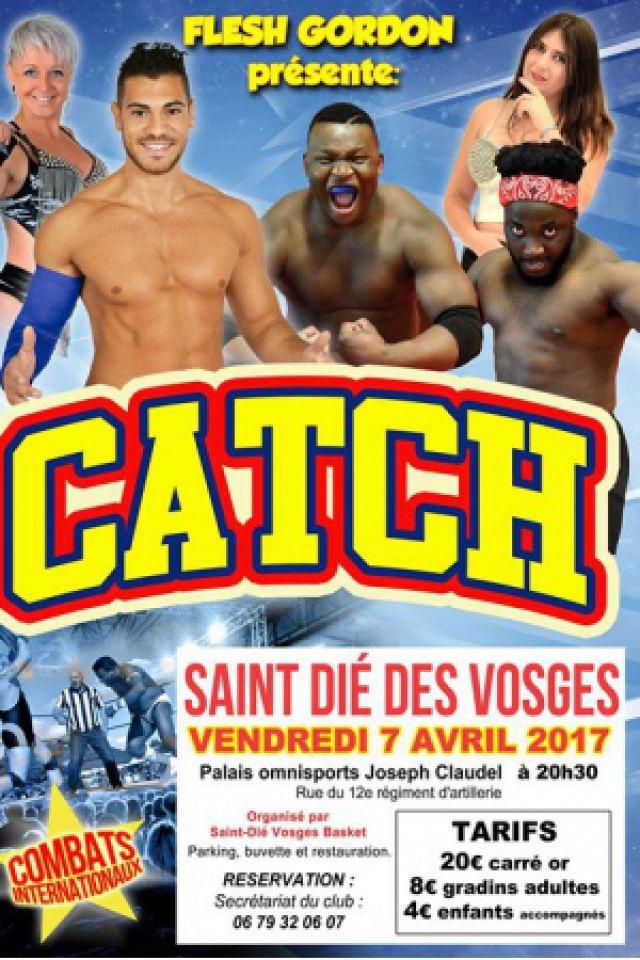GALA DE CATCH @ Palais Omnisports - SAINT DIE DES VOSGES