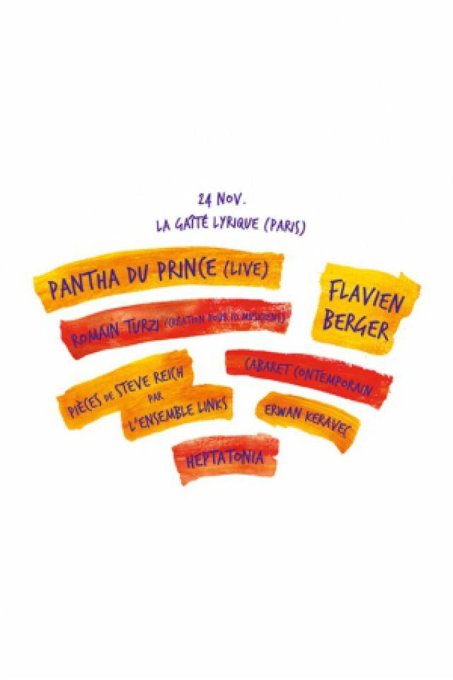 Festival MARATHON! : Pantha du Prince, Flavien Berger etc @ Gaîté Lyrique