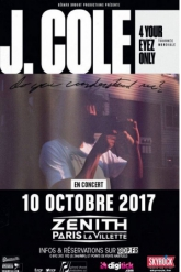 Billets J.COLE - Zénith Paris La Villette