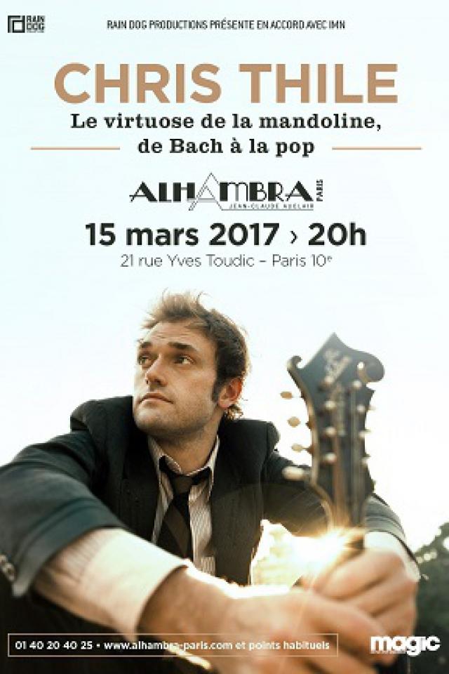 CHRIS THILE @ Alhambra - Paris