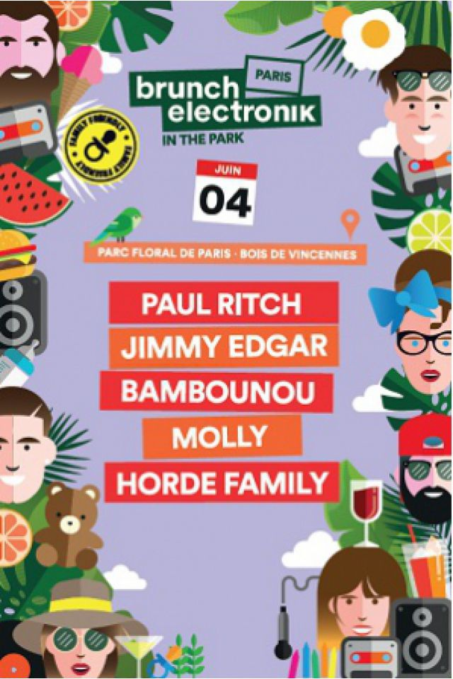 Billets BRUNCH ELECTRONIK PARIS # 3 - Parc Floral