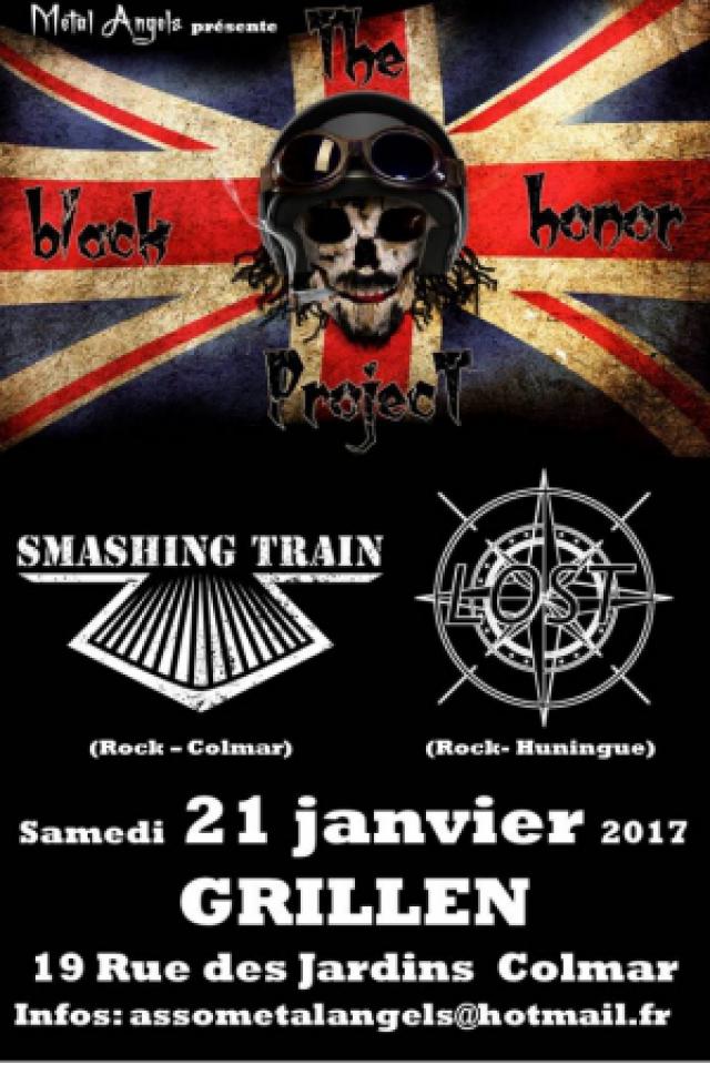 The Black Honor Project / Smashing Train / Lost @ Le GRILLEN - COLMAR