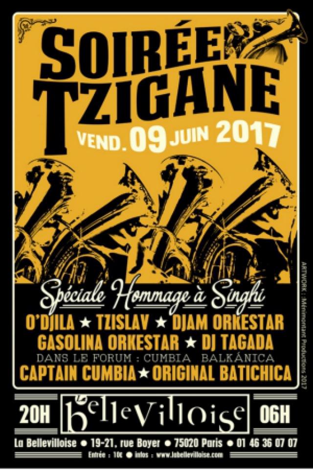 SOIREE TZIGANE - HOMMAGE A SINGHI @ La Bellevilloise - Paris