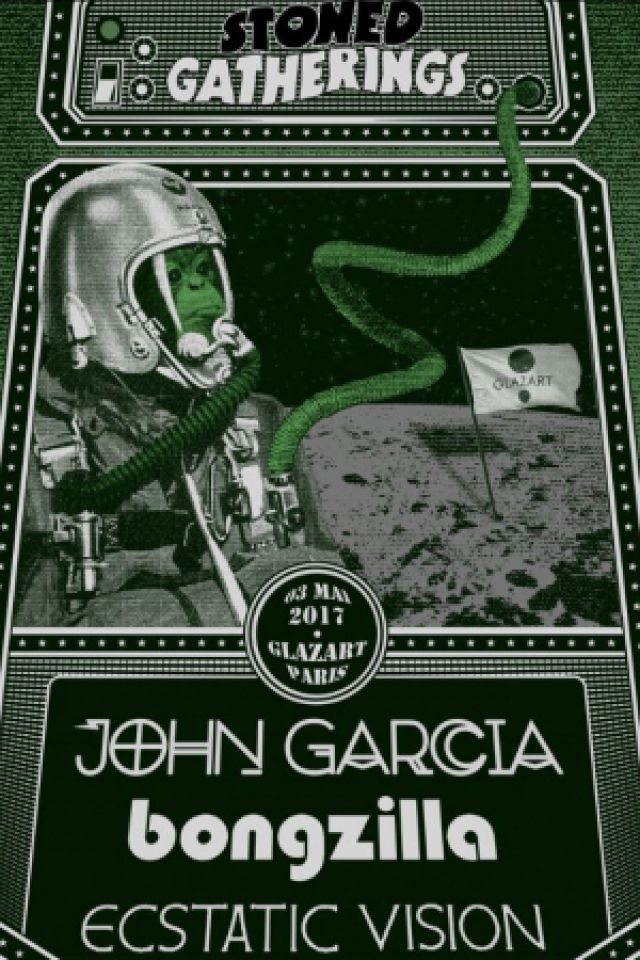 John Garcia + Bongzilla + Ecstatic Vision @ Glazart - PARIS 19
