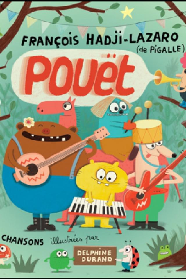 """François Hadji-Lazaro & Pigalle présentent """"Pouët"""" @ LE RACK'AM - Brétigny sur Orge"""