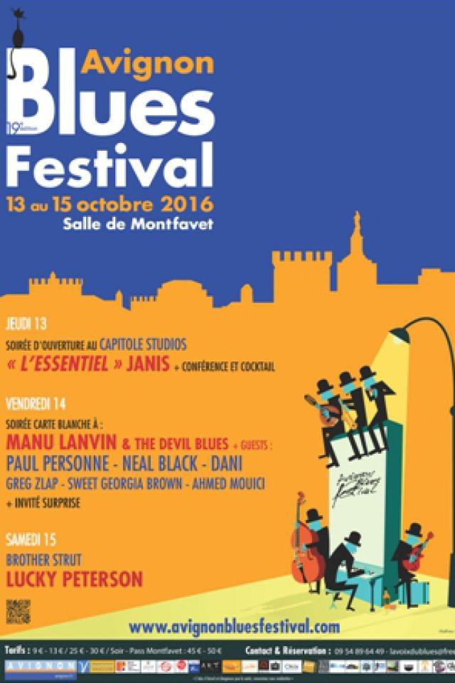 AVIGNON BLUES FESTIVAL - PASS 2 soirs  @ Salle Polyvalente - Montfavet