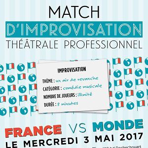 Spectacle Match d'impro professionnel