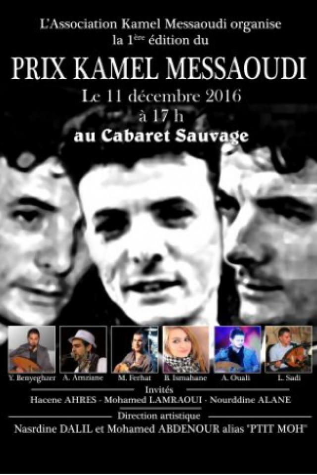 Billets Prix Kamel Messaoudi - Finale - Cabaret Sauvage