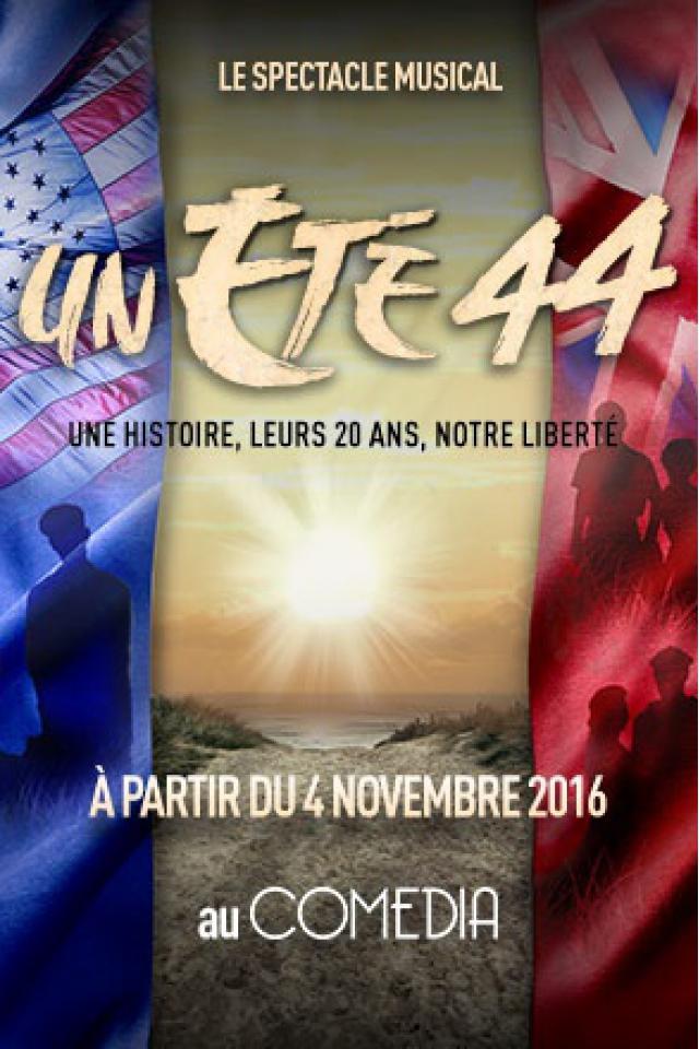 UN ÉTÉ 44 @ Le Comédia - PARIS