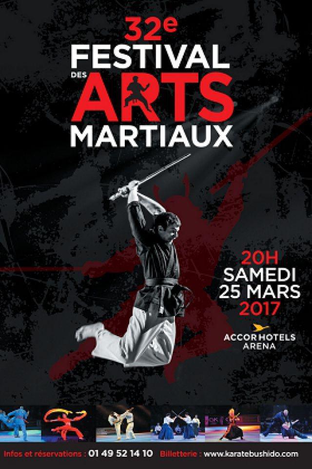 32ème Festival des Arts Martiaux @ ACCORHOTELS ARENA - PARIS 12
