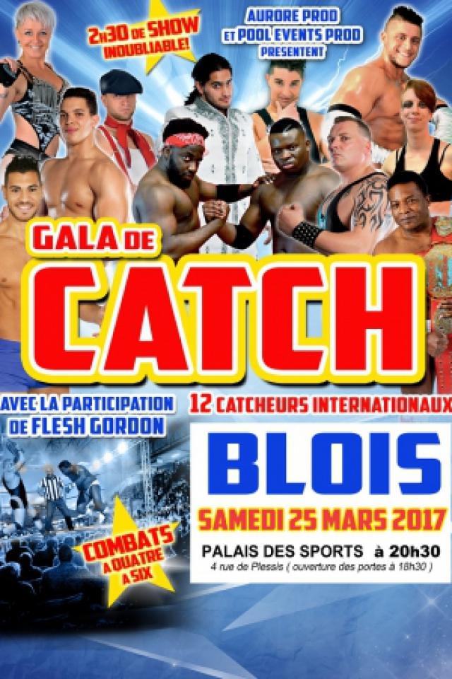 GALA DE  CATCH @ PALAIS DES SPORTS DE BLOIS - BLOIS
