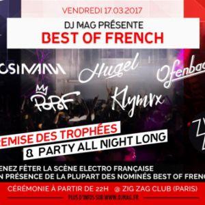 Soirée MOSIMANN, HUGEL, OFENBACH, POPOF, KLYMVX... DJ MAG-Best of French