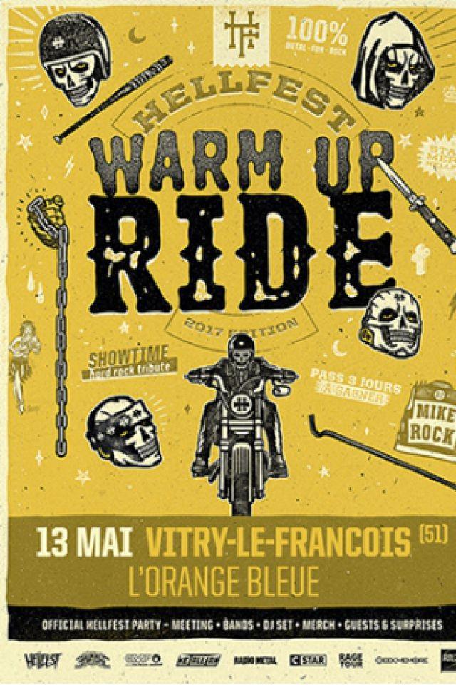 Concert Hellfest Warm Up ride