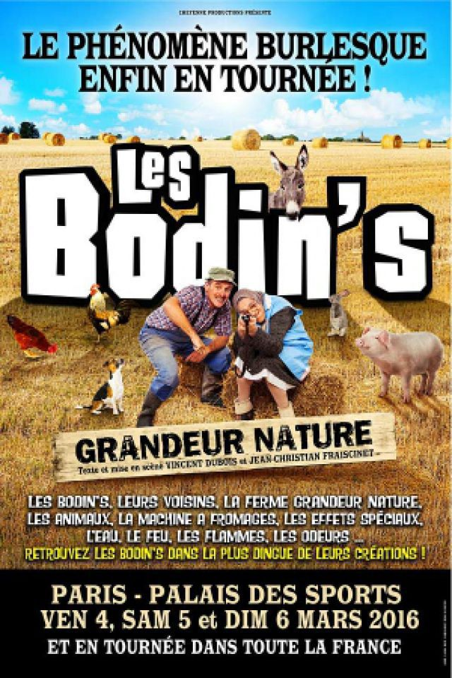 LES BODIN'S @ Zénith d'Auvergne -  Cournon