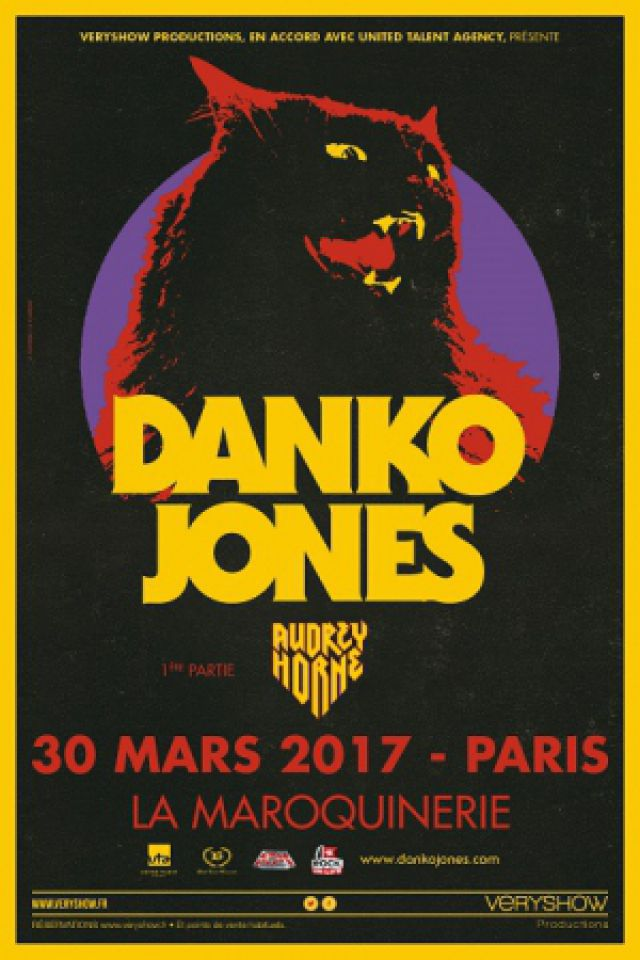 DANKO JONES @ La Maroquinerie - PARIS