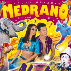 Spectacle CIRQUE MEDRANO A LORIENT - ALADIN & LES 1001 NUIT