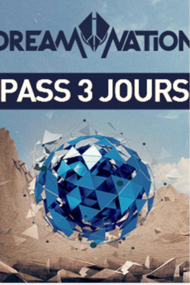 DREAM NATION FESTIVAL - PASS 3 JOURS @  PETIT BAIN + DOCKS DE PARIS+PLAGE DE GLAZART - -1