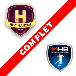 HBC Nantes - Montpellier @ Salle métropolitaine de la Trocardière - REZÉ