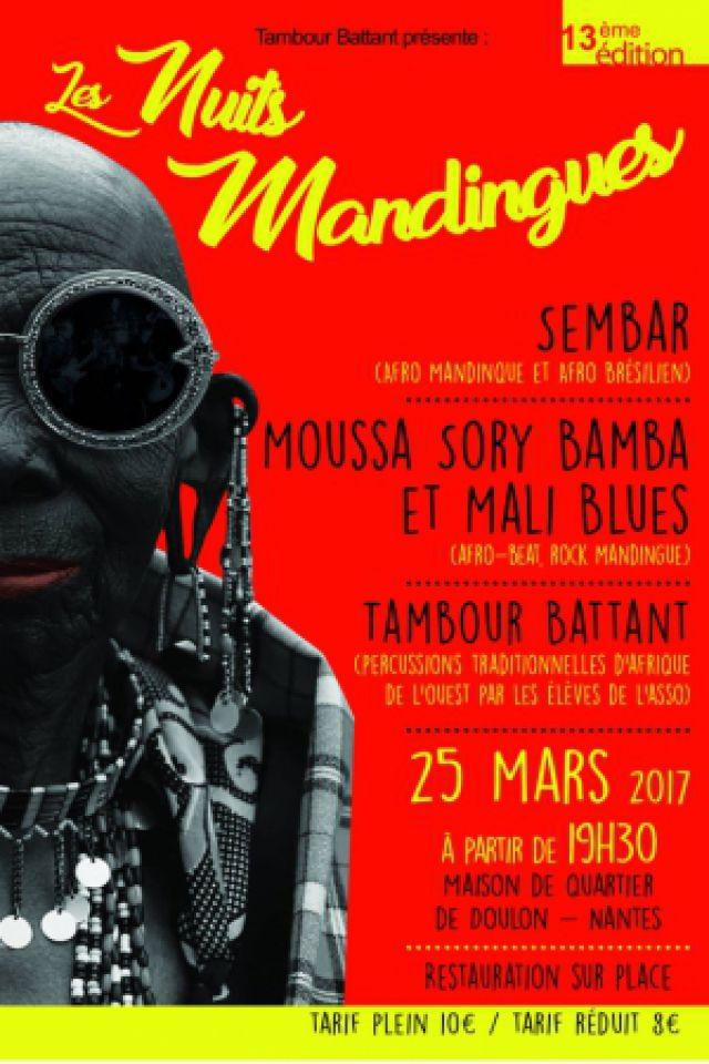 Les Nuits mandingues, Invitation en Afrique de l'Ouest #13 @ Maison de Quartier de Doulon - Nantes
