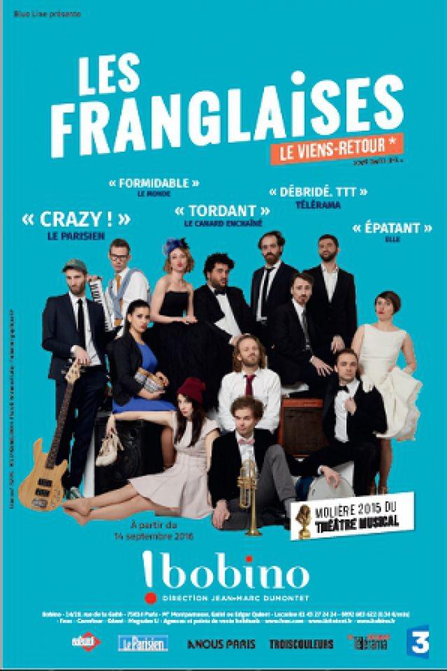 LES FRANGLAISES @ BOBINO - Paris