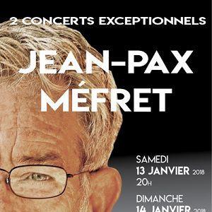 Concert JEAN PAX MEFRET
