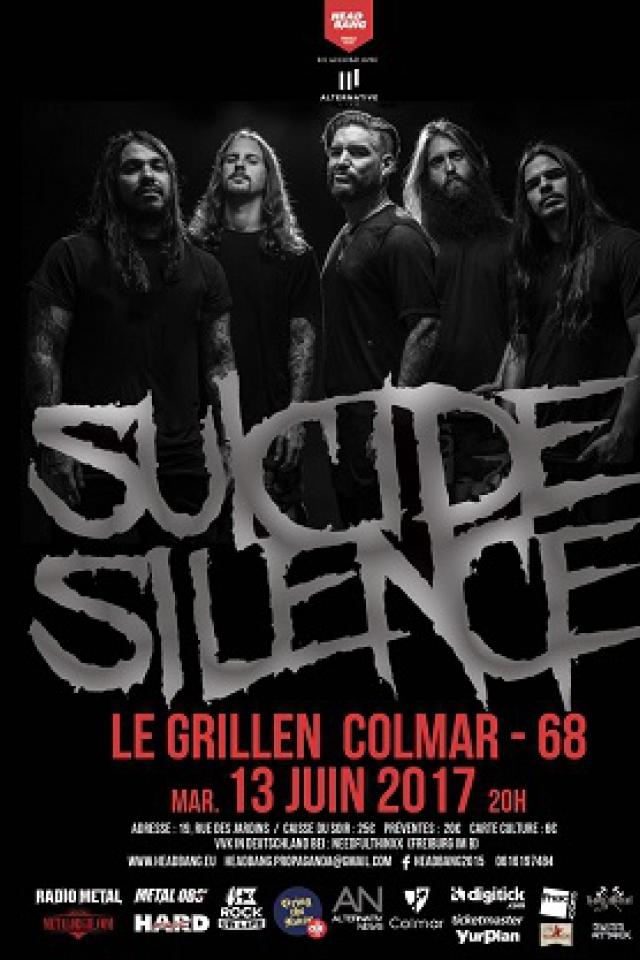 Suicide Silence + Guests @ Le Grillen - COLMAR