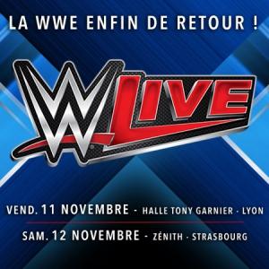 WWE LIVE @ Halle Tony Garnier - LYON