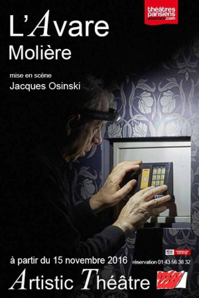 L'Avare @ Artistic Théâtre - PARIS