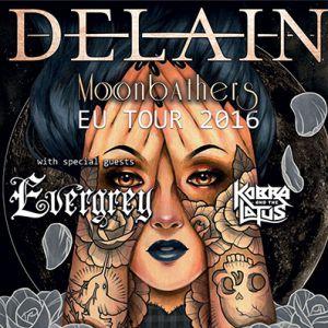 Concert DELAIN + EVERGREY + KOBRA & THE LOTUS