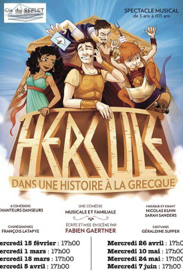 Hercule dans une histoire à la grecque @ Théâtre Trévise - Paris