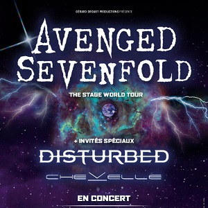 Concert AVENGED SEVENFOLD