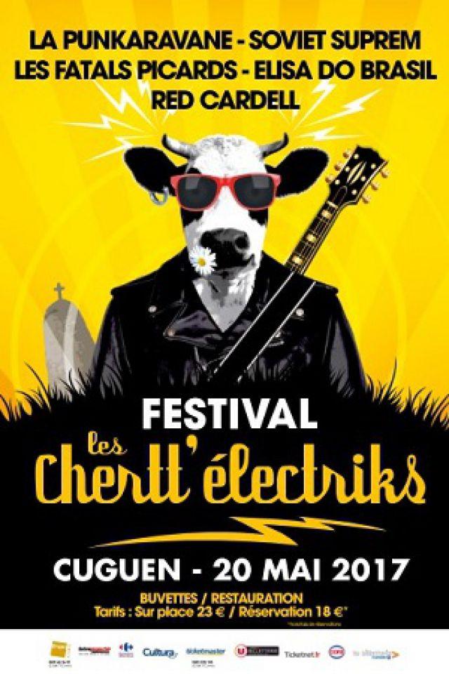 FESTIVAL LES CHERTT ELECTRIKS-LES FATALS PICARDS, SOVIET SUPREM @ Cuguen  - CUGUEN