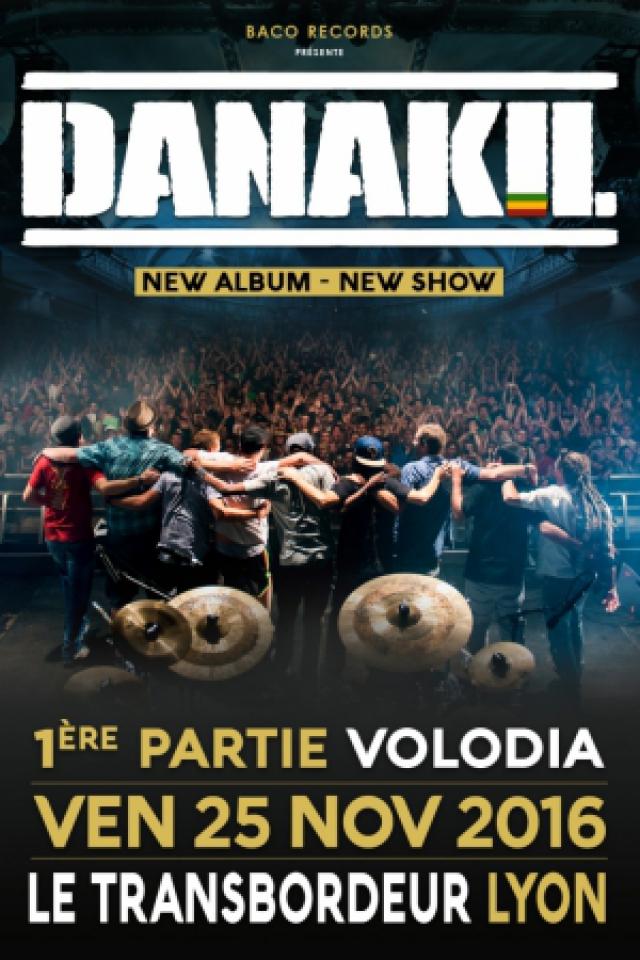 DANAKIL + VOLODIA @ TRANSBORDEUR - Villeurbanne