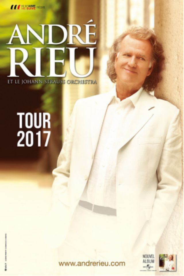 ANDRE RIEU - TOUR 2017 @ Halle Tony Garnier - LYON