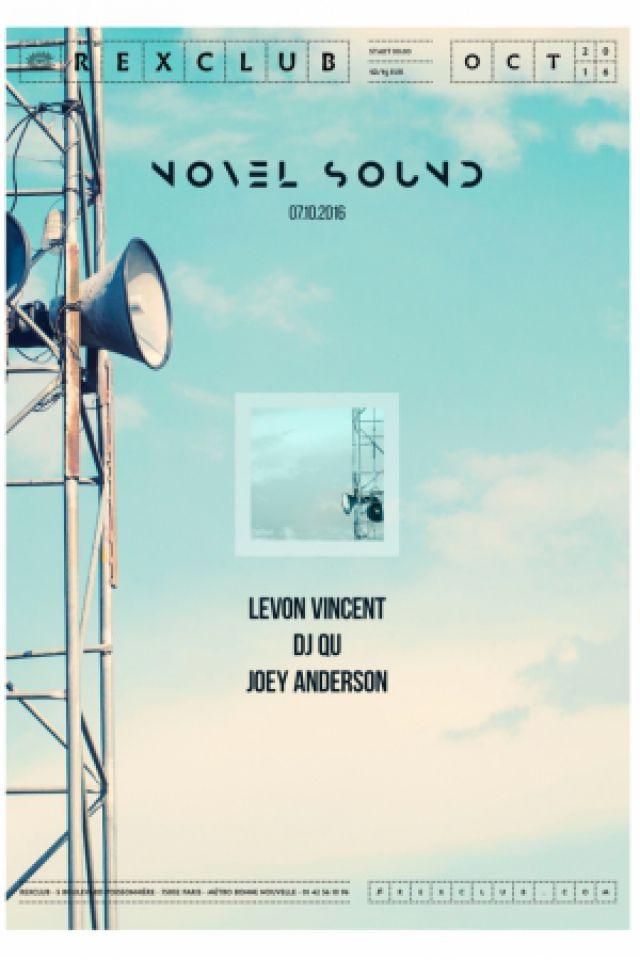 NOVEL SOUND @ Le Rex Club - PARIS
