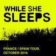 WHILE SHE SLEEPS + Guest