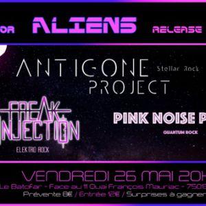 Concert ANTIGONE PROJECT // FREAK INJECTION // PINK NOISE PARTY