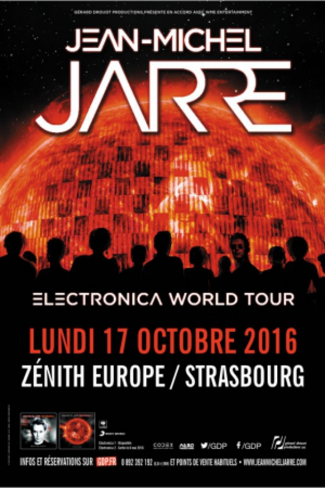 JEAN-MICHEL JARRE @ Zenith de Strasbourg - Europe - Eckbolsheim-Strasbourg