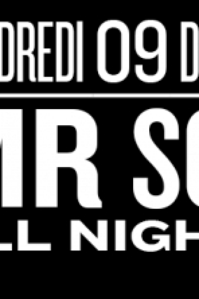 Billets Mr Scruff - All Night Long - - Nuits Fauves