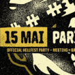 Warm Up Ride Hellfest 2K17 : Paris - Le Batofar