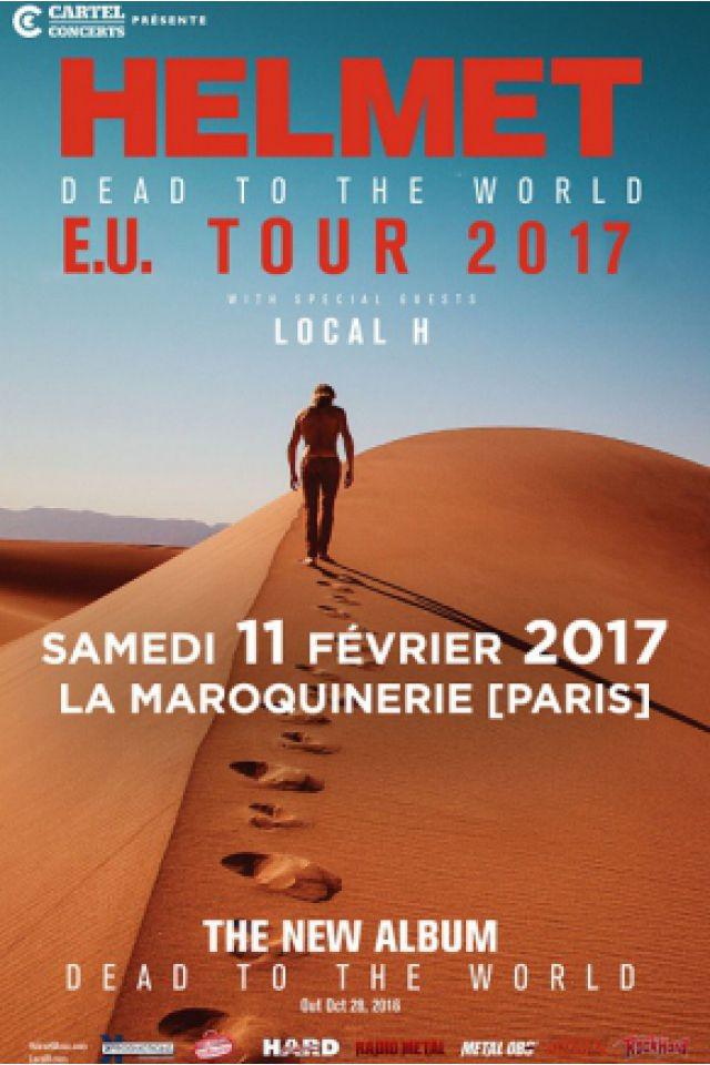 Concert HELMET à PARIS @ La Maroquinerie - Billets & Places