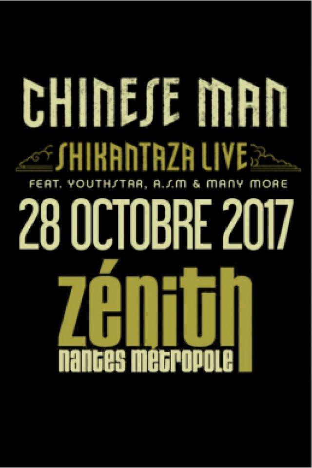 Concert CHINESE MAN + Guests à Saint Herblain @ ZENITH NANTES METROPOLE - Billets & Places