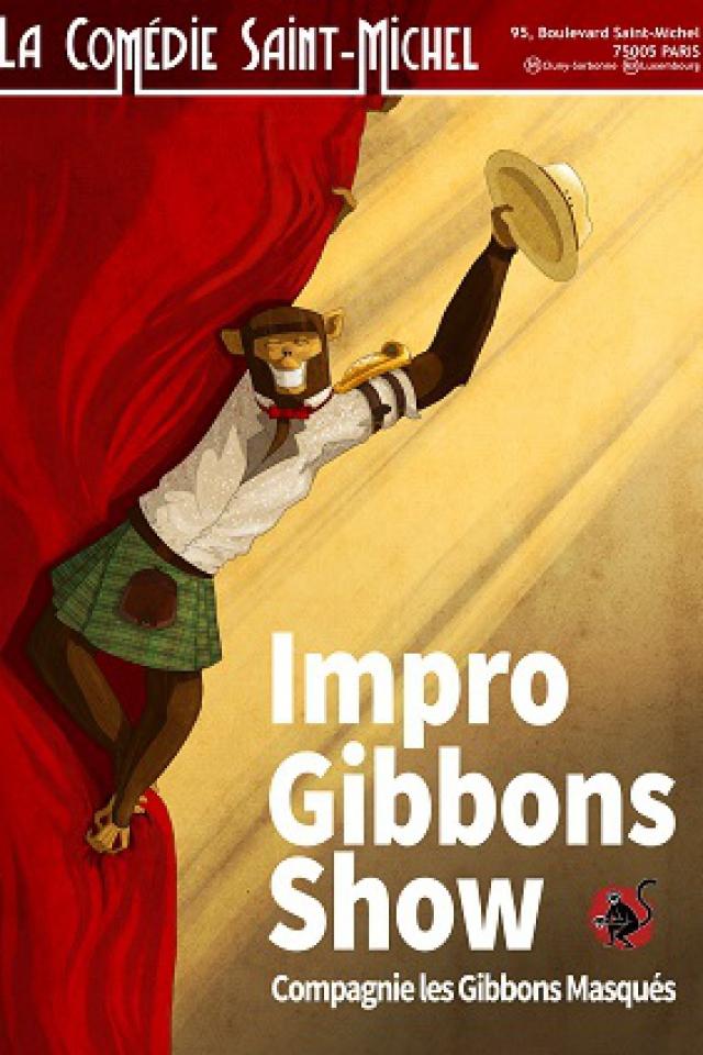 Impro Gibbons Show @ La Comédie Saint Michel - Grande salle - PARIS