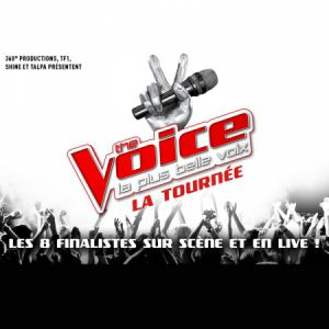 Concert THE VOICE, LA TOURNEE