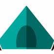 Pass aire d'accueil camping-car, voiture (avec tente) à 30�