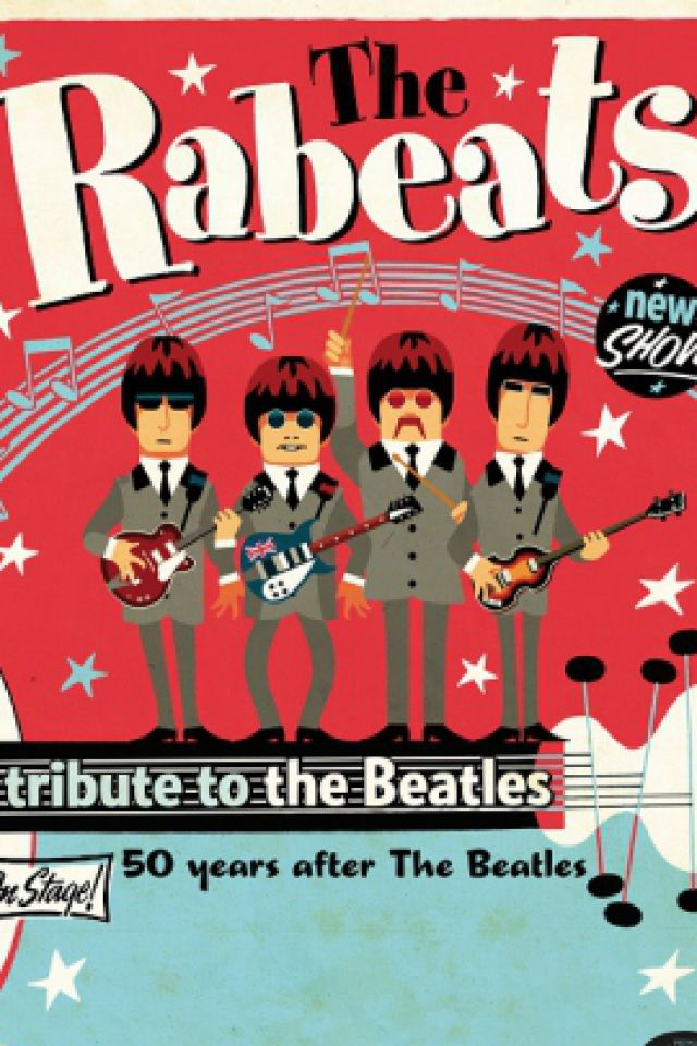 THE RABEATS - Hommage aux Beatles @ Auxerrexpo - Auxerre