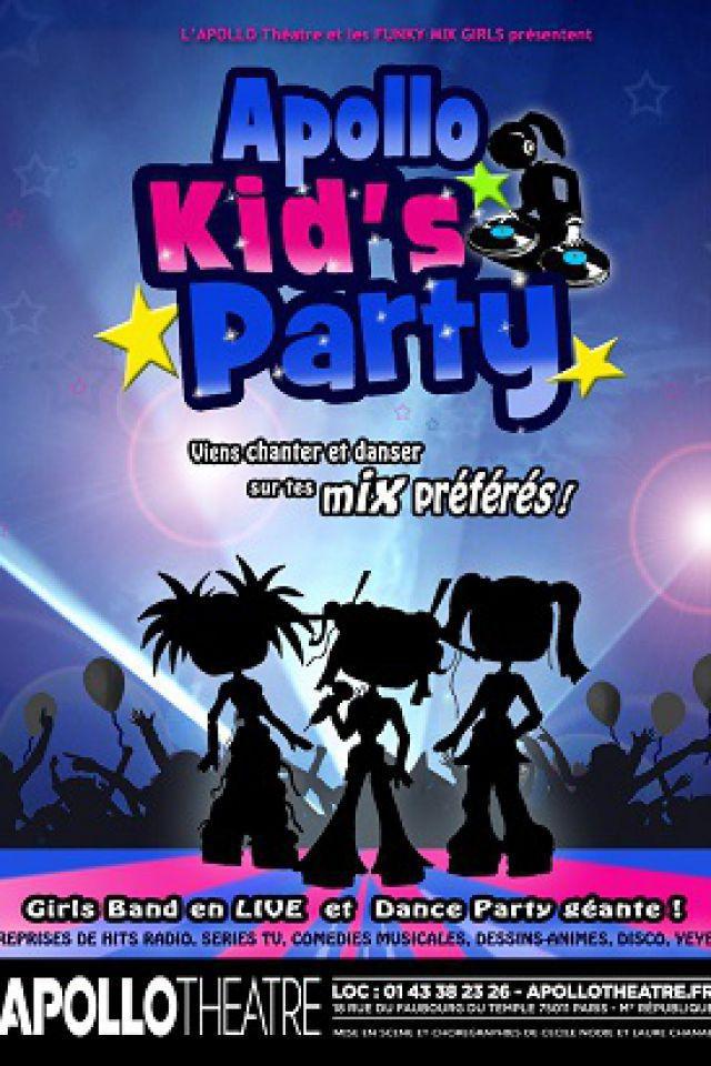 APOLLO KID'S PARTY  @ APOLLO THEATRE - PARIS