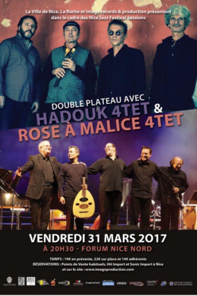 Hadouk 4tet & Rose à Malice 4tet @ Forum Nice Nord - NICE